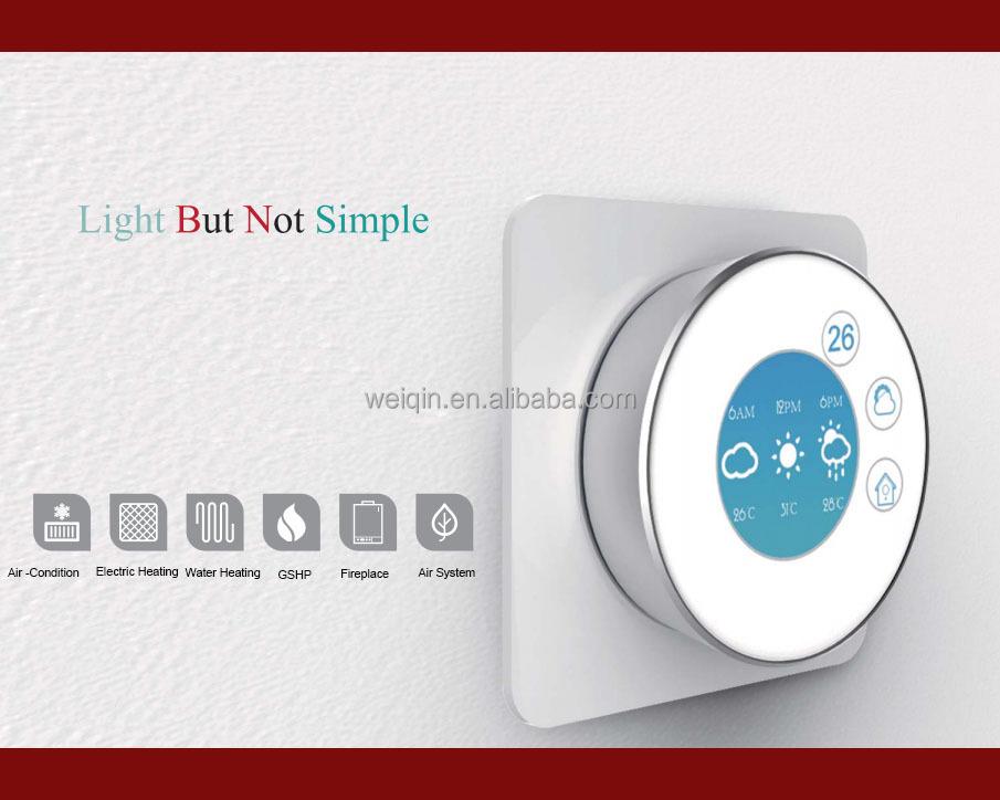 termostato wifi con app mobile di controllo intelligente