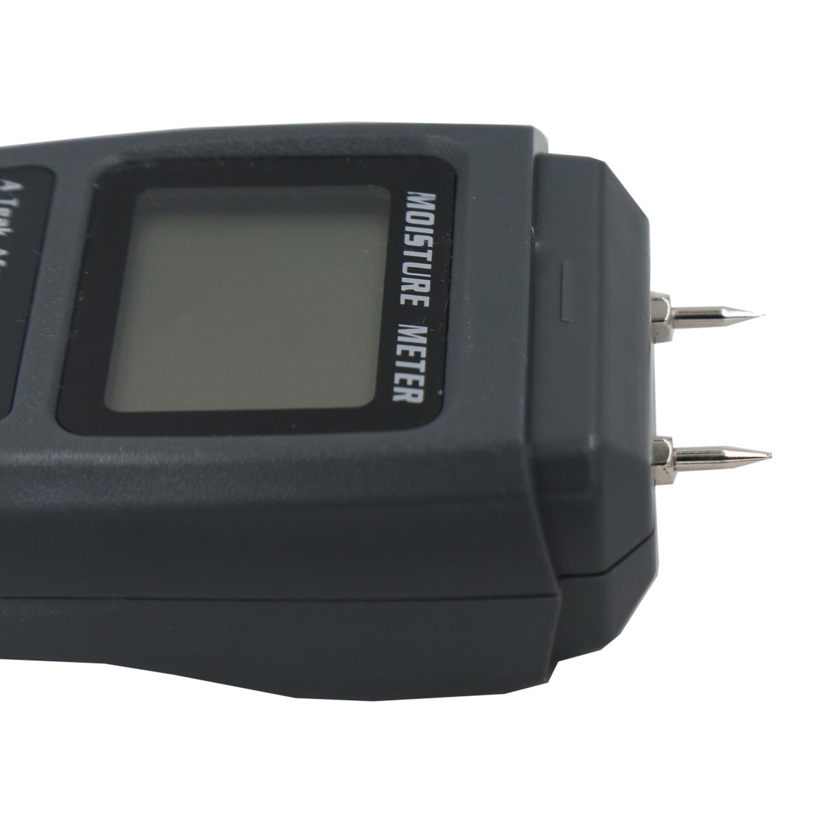 shentaotao 0-99.9/% Dos Clavijas De Madera Digital Medidor De Humedad De Madera Probador De La Humedad De La Madera Higr/ómetro H/úmedo Detector Pantalla LCD Grande