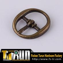 Adjustable oval pin metal buckles for aprons