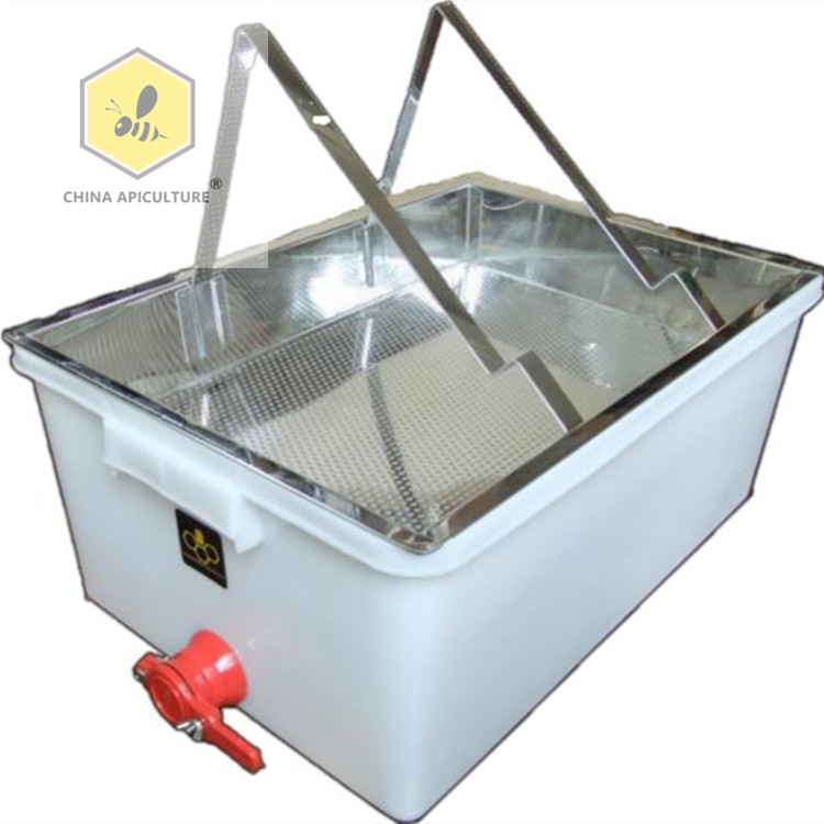 Beekeeping Honey bee l uncapping tray / tank