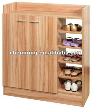 Great High Capacity Two Doors Modern Shoe Cabinet