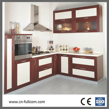 Stitching Dark And Light Color Japanese Style Kitchen Cabient Door