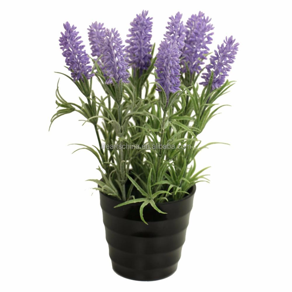 Artificial Lavender Flower 24cm H Potted Lavender Plant Buy