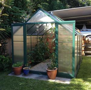 Home garden garden tunnel/ glass garden house/ plastic tunnel greenhouse