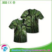 Free Design Tshirt Yarn Dress Sublimation T-Shirt Custom Logo Printing