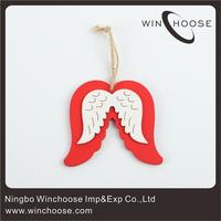 Angel Wings Ornament Christmas Wood Crafts Y460572