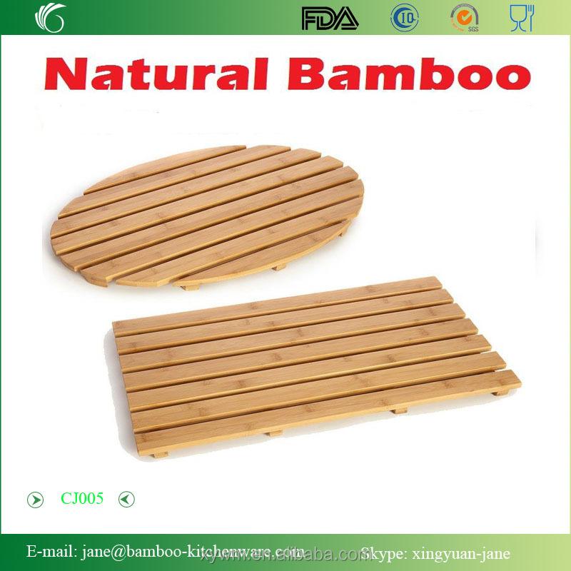 Bamboo Shower Floor And Bath Mat - Buy Bamboo Bath Mat,Bamboo Shower ...