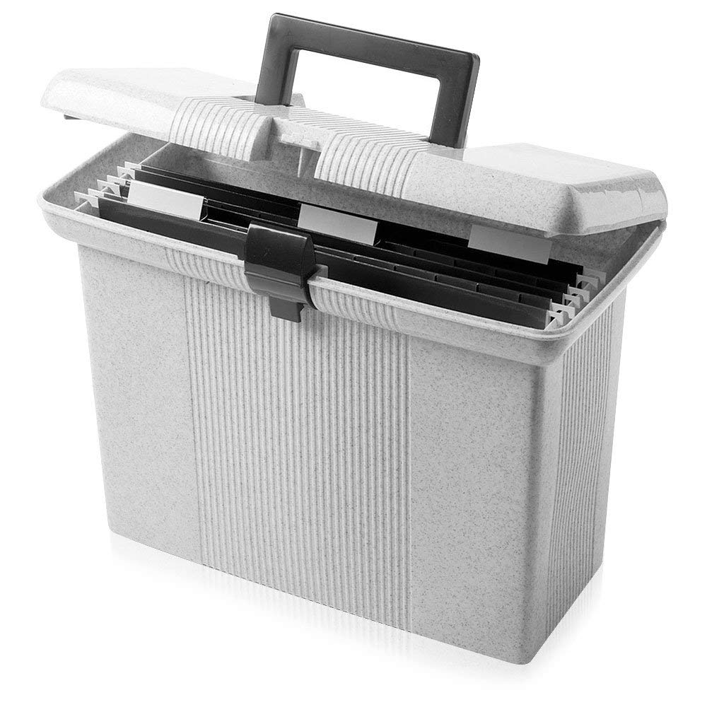 Limaomao Accordion Folders Large Capacity Plastic Organ Bag Document Bag Portable Bill Information Storage Bag Business File Box with Handle 5 Pieces Desktop Plastic Folder Organizer