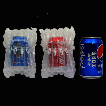 Inflatable Plastic Canned drinks Air Bag Column Packing