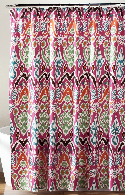 Get Quotations Lush Decor Jaipur Ikat Shower Curtain 72 X Fuchsia