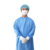 medical clothing SMS nonwoven fabric disposable hospital surgical gown with knitted cuff