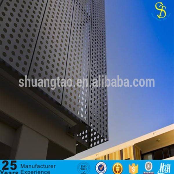 professional production galvanized plain perforated mental sheet