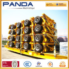 heavy duty truck 6lines 8lines 150-200tons hydraulic Modular trailer self-propelled modular transporter