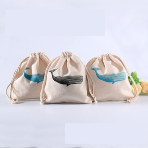 Fashion mini cotton jewelry pouches