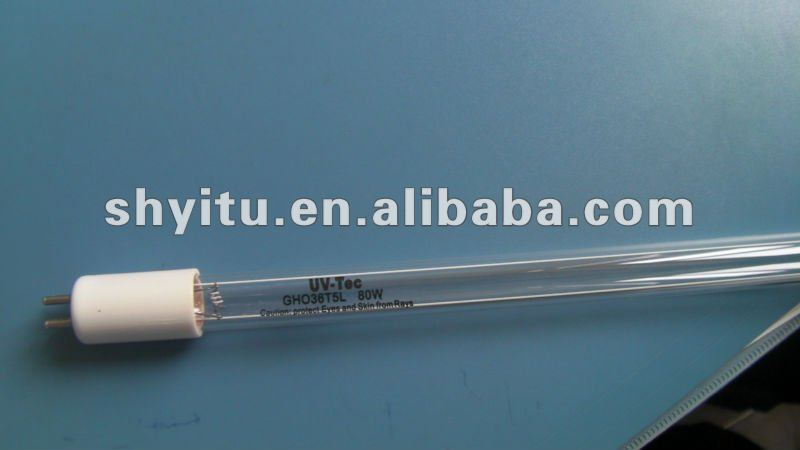UV-TEC ultraviolet lamp 80W GHO36T5L/4 high output uv lamp 80W