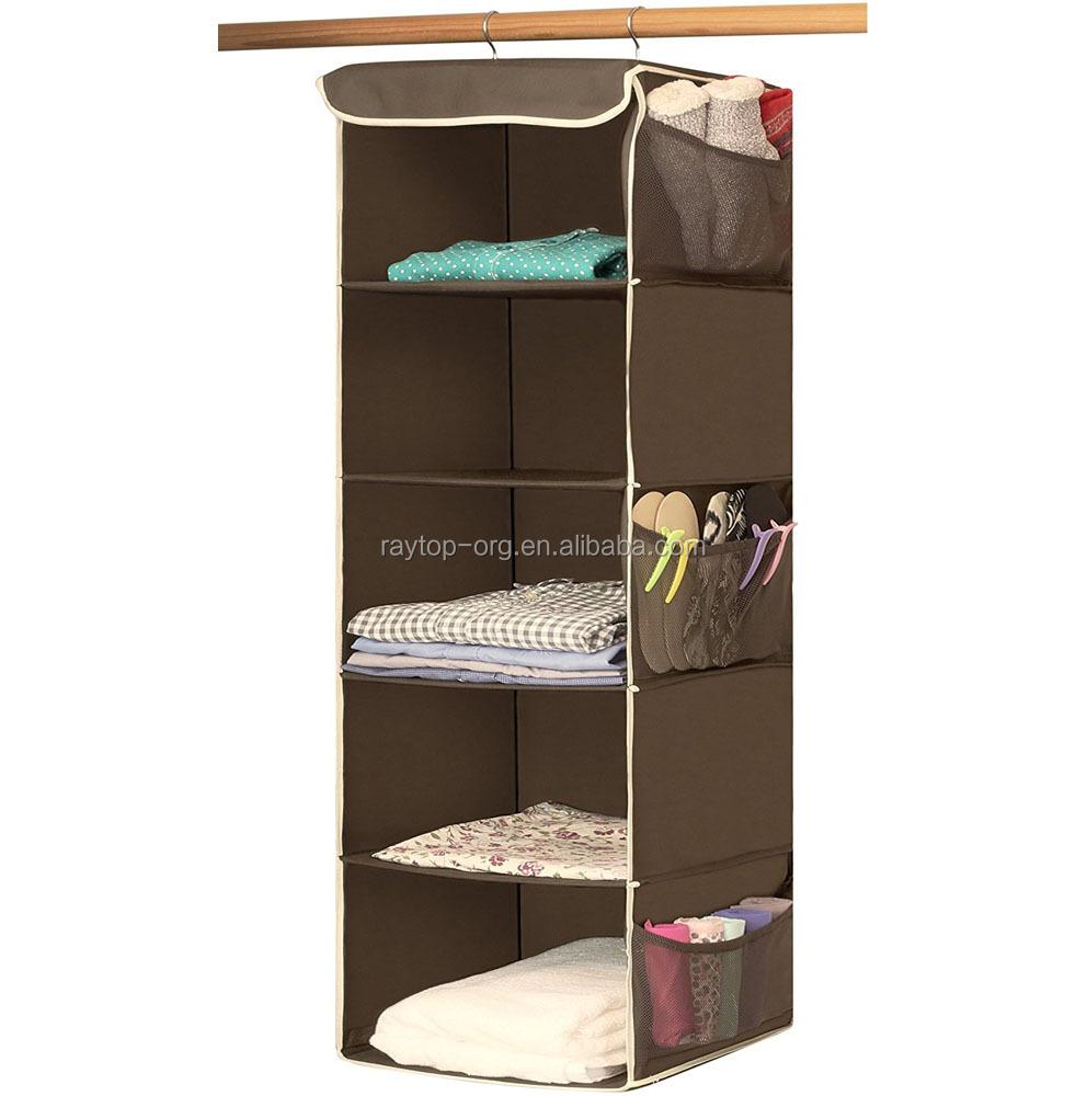 Canvas Hanging Closet Shelf Organizer, Canvas Hanging Closet Shelf Organizer  Suppliers And Manufacturers At Alibaba.com