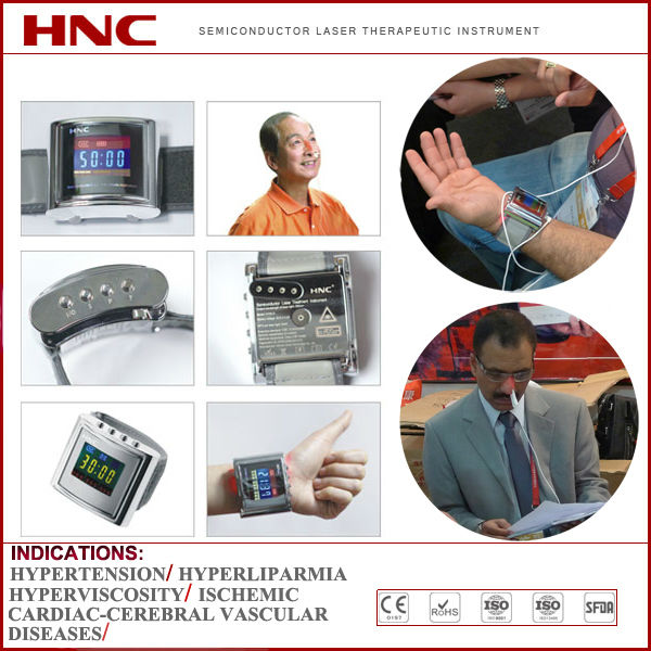 HY30-D wrist type clean blood cold laser diabetes and rhinitis therapy instrument