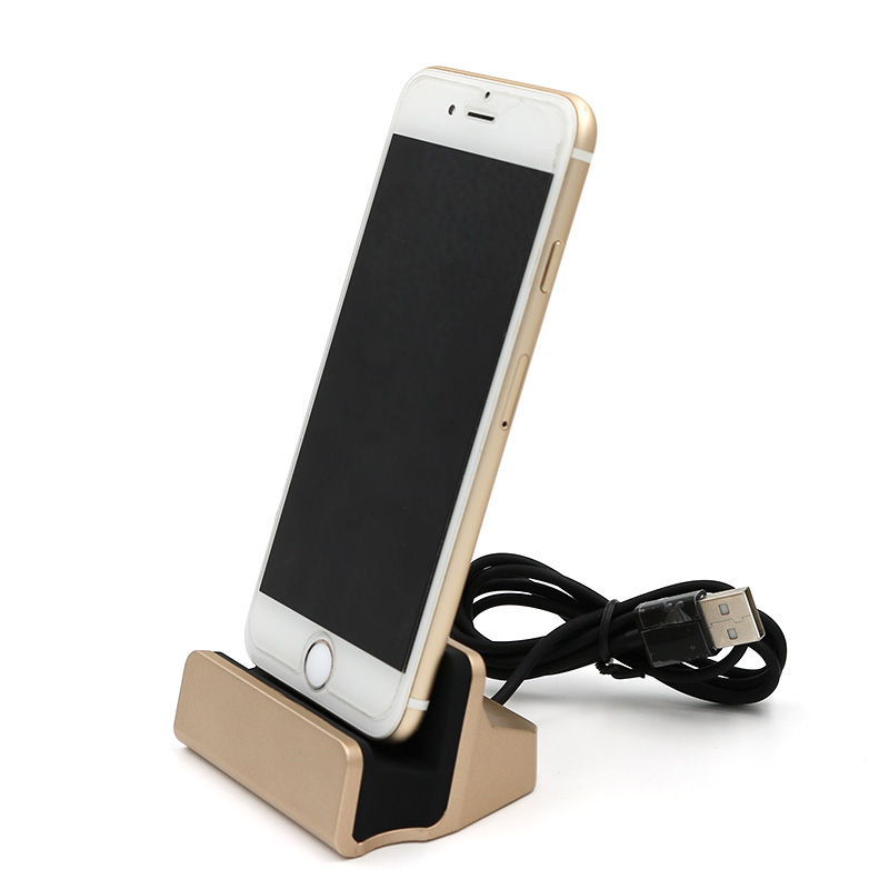 2017 Newest Colorful Cradle Charging Stand Station Sync Data