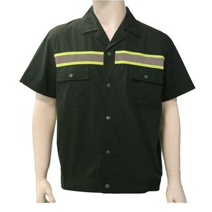 New Safety Working Uniforms Mix Size Short Sleeve Worker Uniform