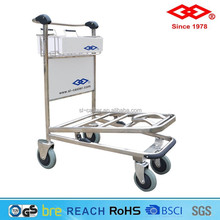 Factory Price airport heavy duty platform trolley