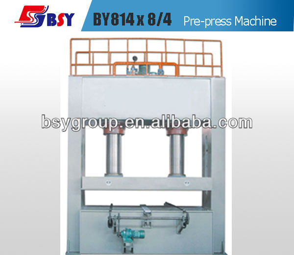 BY814x8/4C Woodwoking Cold Press Machine