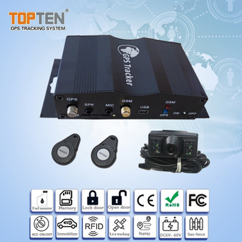 Multi-function Fleet Management GPS Tracker TK510 with RFID and Camera