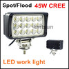Bestsell Automobile Square 45w led work light