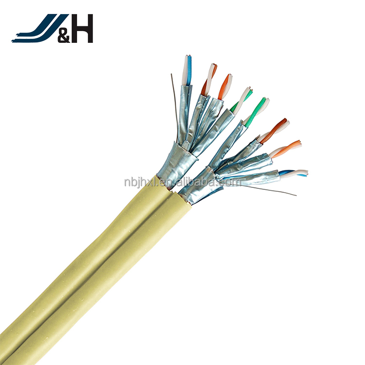 23AWG Duplex FFTP Cat6 Cat6A Cat7 Network Cable