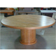 2017 new design round wooden dining table