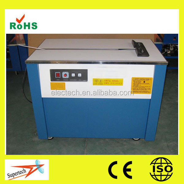 CE Standard Carton Semi -Auto PP Strapping Band Making Machine