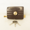 Classic Design Rim Door Locks Simple House Old Rim Lock Brass Lock