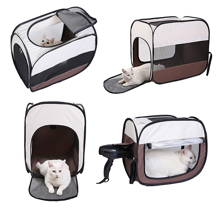 Dropshipping Pet Hair Dryer grooming Drying House Portable Hands-free Drying System after Bath for Dogs and Cats tent