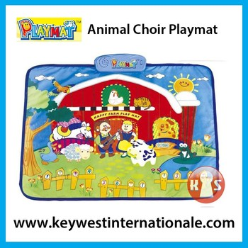 Animal Choir Playmat