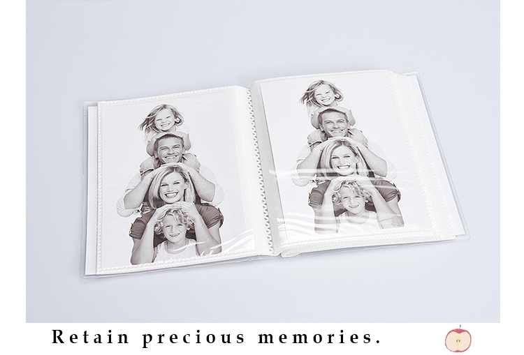 Custom Logo Delicate Blank Scrapbook Photo Album for Sale