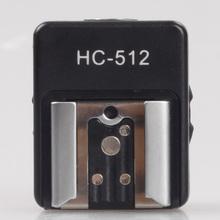Travor New For Sony Camera MI Interface Hot Shoe Adapter HC512 For Nikon Flash Light