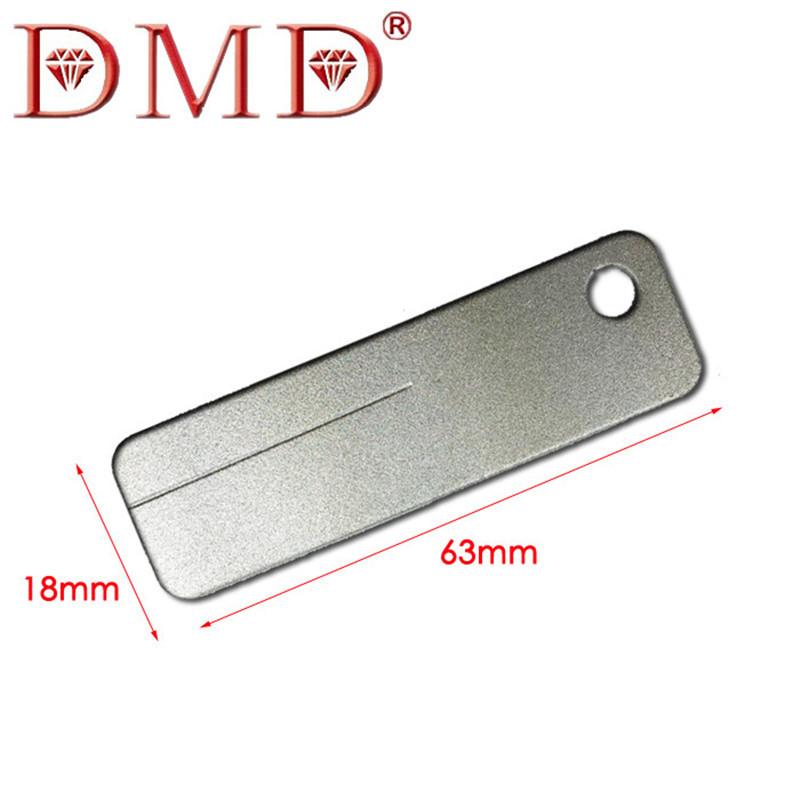 DMD Diamond Mini de gancho de plata pequeña portátil afilado gancho Mini cuchillo afilador al aire libre herramienta esencial Gadget