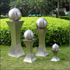 Stainless Steel With Ball Fountain