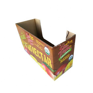 B-Flute Customized Fruit Packaging Cardboard Mango Box