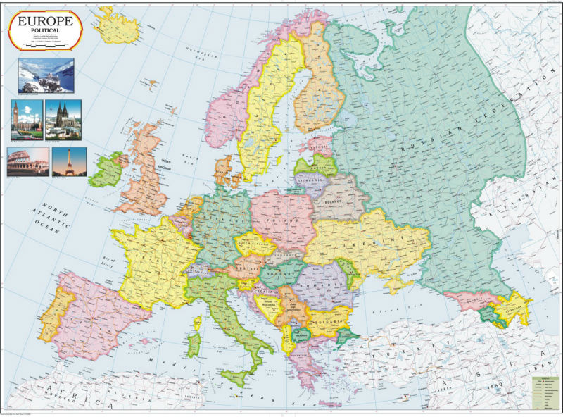 Europe political map buy europe map product on alibaba gumiabroncs Gallery