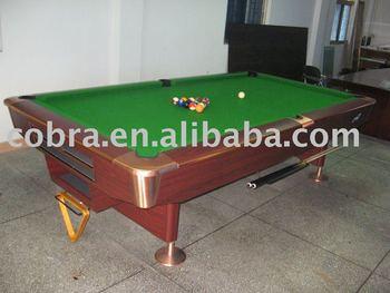 Slate+MDF International Standard Size Pool Table