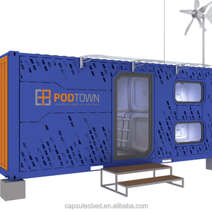 China manufacturer supply customized capsule hotel holiday hotel modular container container hotel