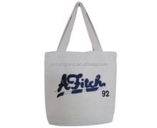 Samples Are Available Personalized Exquisite Cotton Folding Canvas Cloth Large Beach Tote Bag