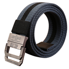 Durable colourful soft cotton lady black belt with D ring buckle belt