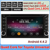 Ownice New Quad Core Cortex A9 1.8GHz Android 4.4.2 dvd automotive for toyota corolla rav4