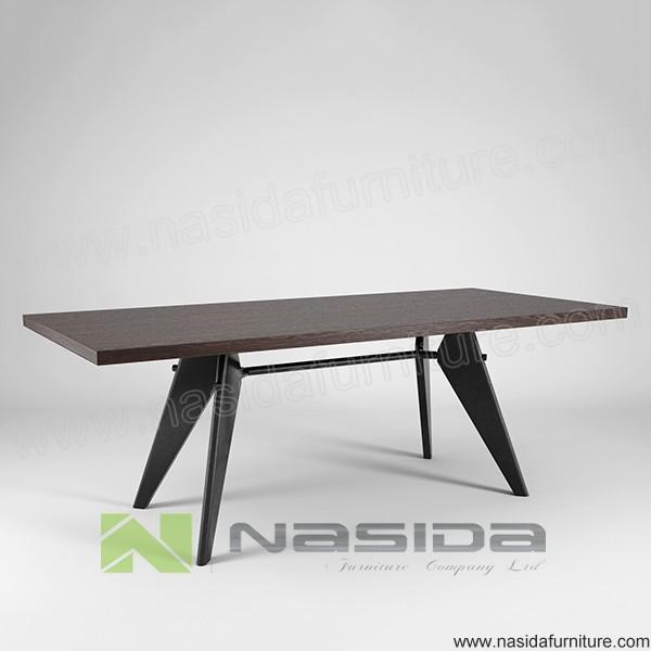 tl085 jean prouve em eettafel houten tafels product id 60345451703. Black Bedroom Furniture Sets. Home Design Ideas