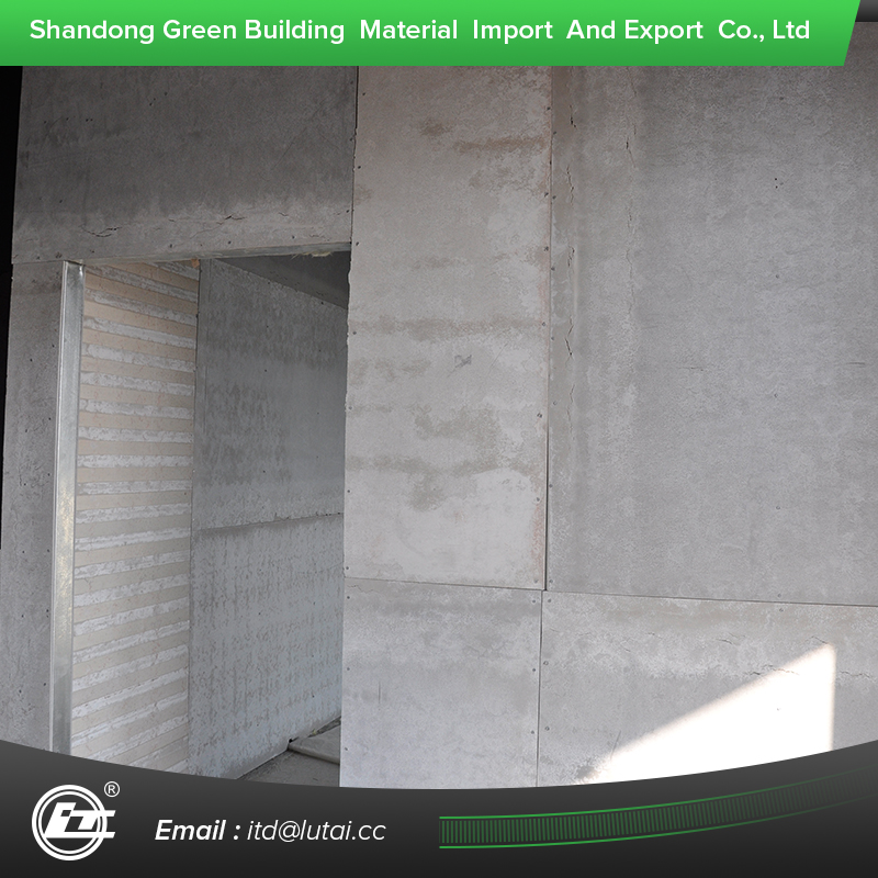 Fiber cement board fire rated siding wall panel