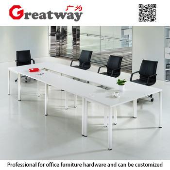 Modern Design Metal Conference Table Pedestal For Wooden Top Table - Pedestal conference table