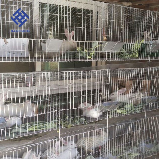 Welded rabbit cage manufacturer/metal wire pet cages/portable rabbit cage