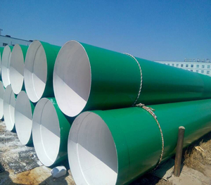 Polyurethane coating according to AWWA C222 CARBON STEEL PIPE