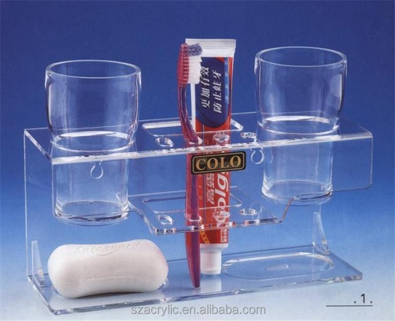Acrylic Toothbrush Display Rack,Acrylic Toothbrush Holder